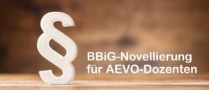 BBiG-Novellierung für AEVO-Dozenten