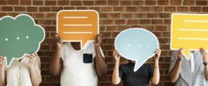 Nutzen Sie den Chat in Online-Räumen